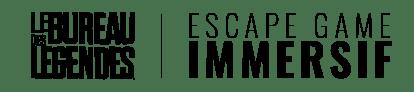 Logo Noir Le Bureau des Légendes Escape Game Immersif